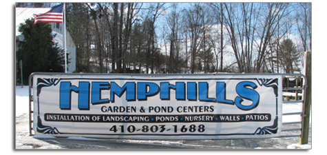 Hemphills Landscaping Ponds Garden and Aquatic Center Harford