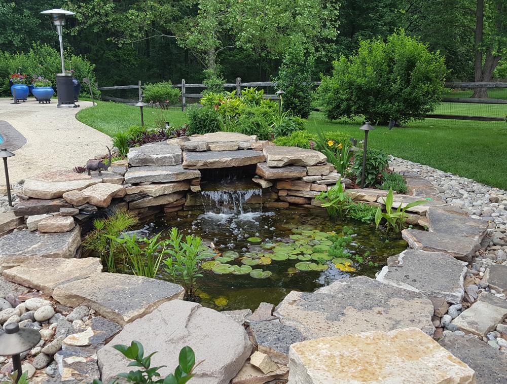 Pond design construction installation services for Pond installation