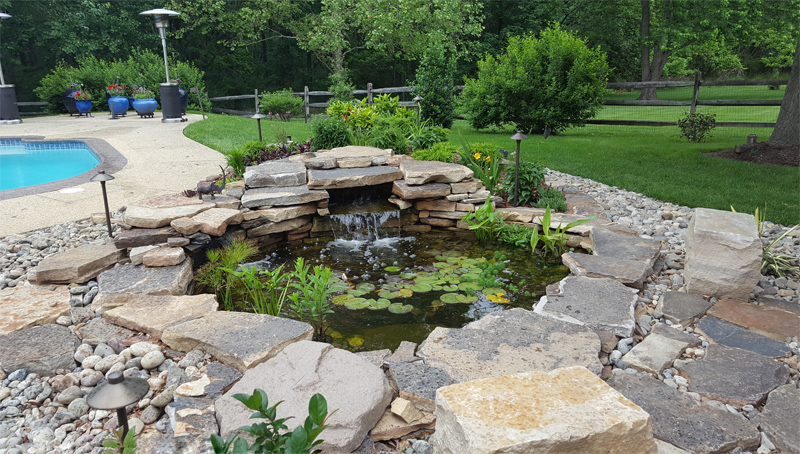 Ponds and Pools Landscaper Maryland DC